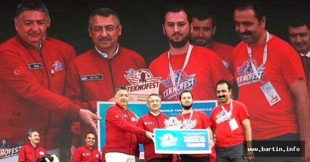 Teknofest'ten Bartın'a 10 Bin TL Ödül