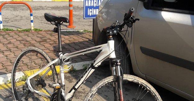 3 Bin 500 Liralık Bisikleti Çalan Zanlı Yakalandı