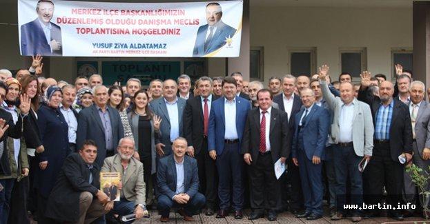 Merkez İlçe Danışma Meclisi Toplandı