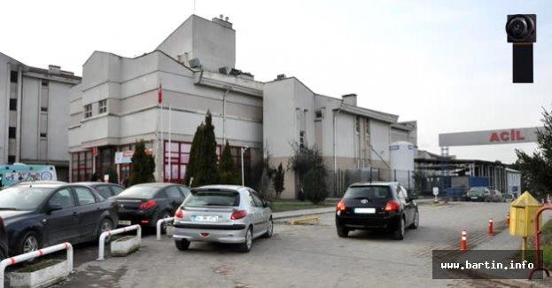 Bartın Devlet Hastanesinde gizli kamera skandalı