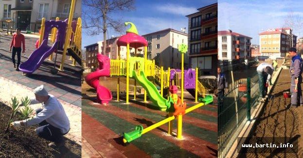 Karaköy Mahallesine Yeni Park