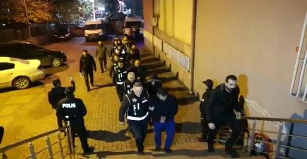 Bartın'da Operasyon: 13 Gözaltı