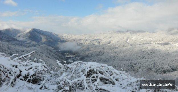 Küre Dağlarında Kış Güzelliği