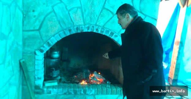 Başkan, Taş Fırın Çalışmalarını İnceledi