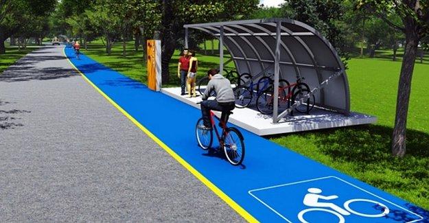 Bisiklet Yolu Projelerine Yüzde 45 Hibe Desteği