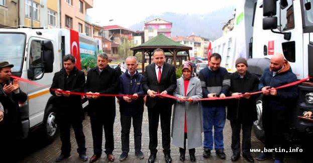 Kumluca'da Araç Tanıtım Töreni