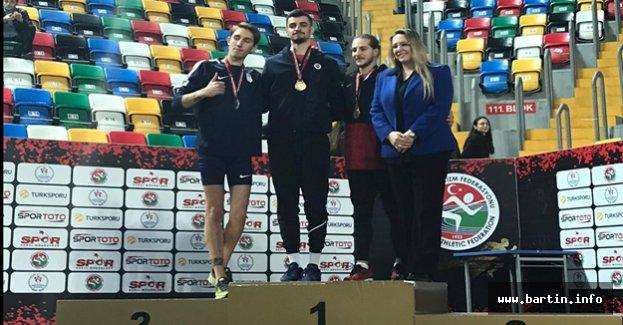 Bartın'a Yüksek Atlamada Altın Madalya