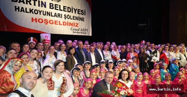 Bartın'da 270 Dansçı Sahne Alacak