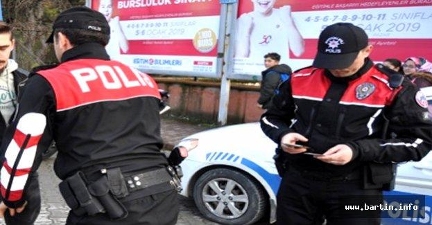 Bartın'da Aranan 6 Şahıs Yakalandı