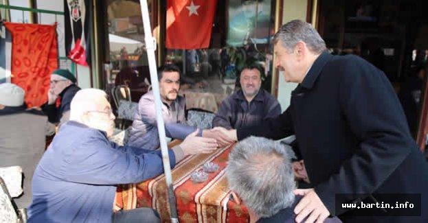 Başkan Hasankadı'da