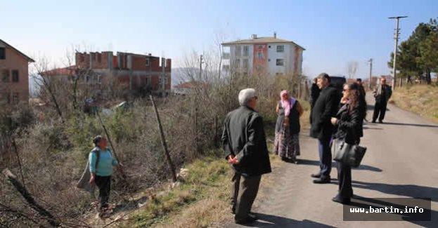 Başkan Köypark Projesini İnceledi