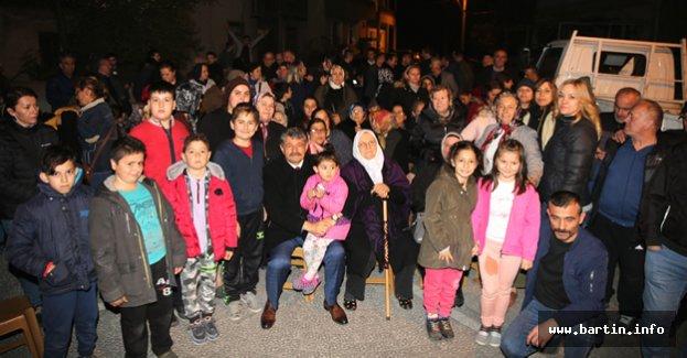 Akın, Okulak Mahallesi'nde Projelerini Anlattı