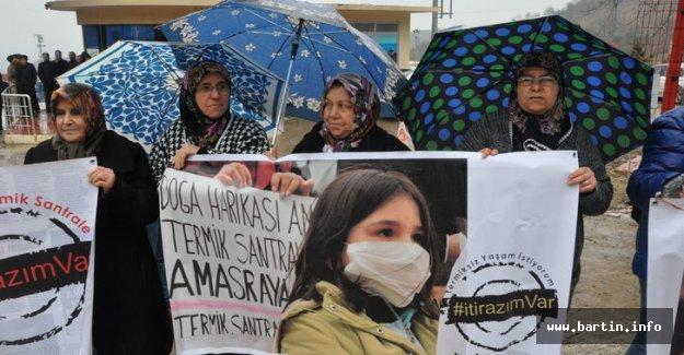 Amasra Halkı Termik Santral İstemiyor