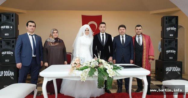 Aydın ve Arslan ailelerinin mutlu günü