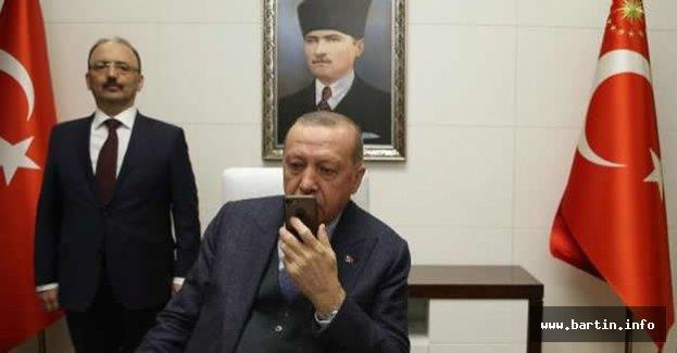 Başkan Erdoğan Mavi Vatan tatbikatına katılan askerlere hitap etti