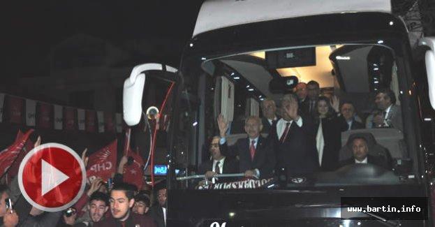 Kemal Kılıçdaroğlu Bartın'da