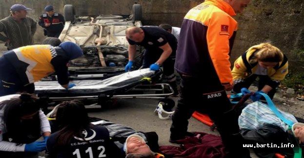 Amasra'da Feci Kaza: 2 Yaralı