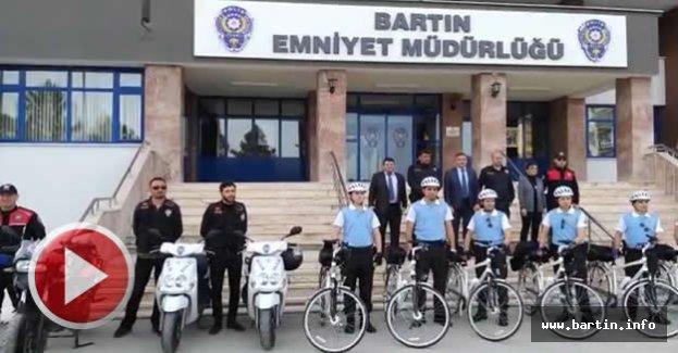 Bisikletli Polis Timleri Göreve Başladı