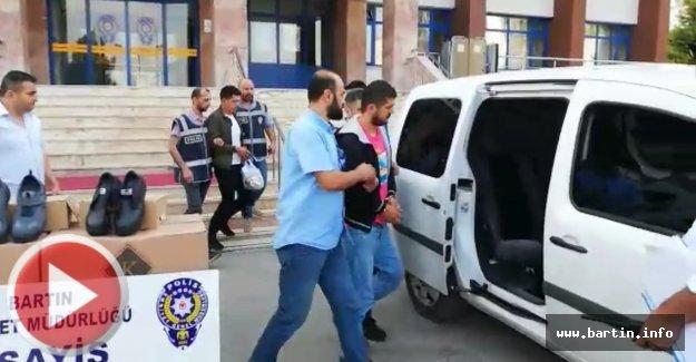 Ayakkabı hırsızları İstanbul'da Kıskıvrak
