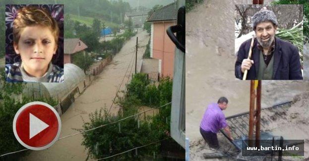 Bartın'da Sel: 1 Ölü, 1 Kayıp