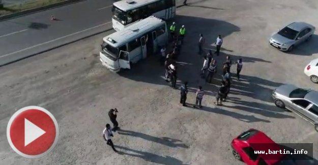 Bartın'da 75 Yasadışı Göçmen Yakalandı