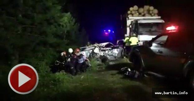 Bartın-Karabük Yolunda Feci Kaza: 2 Ölü, 2 Yaralı