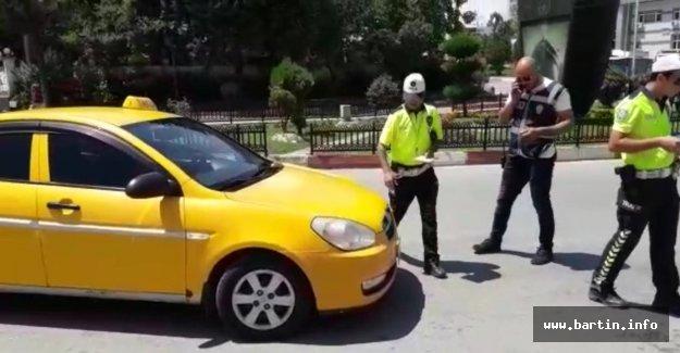 Ehliyetsiz Taksi Sürücüsüne Rekor Ceza