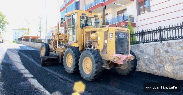 Karaköy Yolları Asfaltlanıyor