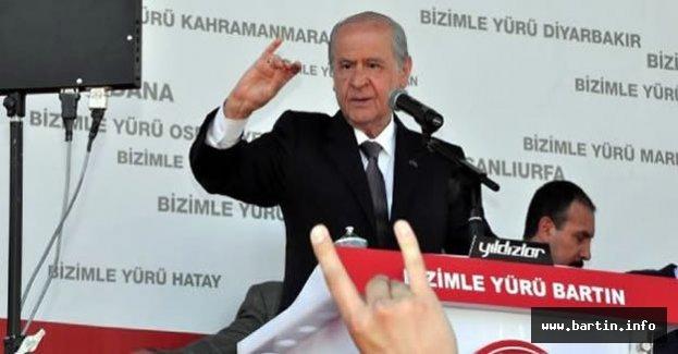 MHP Genel Başkanı Bahçeli Bartın'a Geliyor