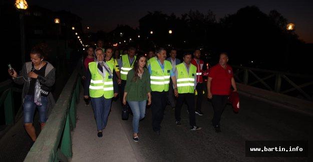 Karaçay'a kadar yürüdüler