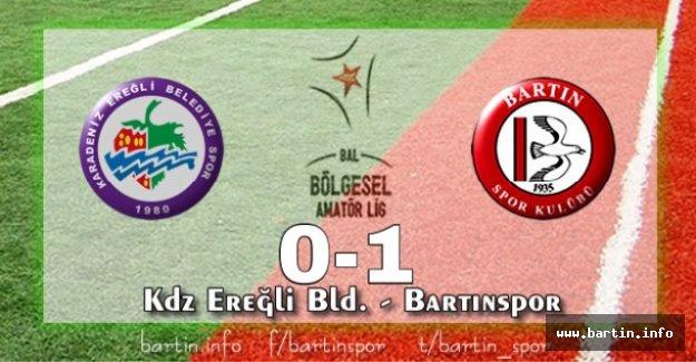 Bartınspor Ereğli'yi Devirdi: 0-1