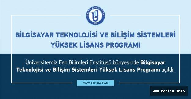 Bilgisayar Teknolojisi Alanında Yüksek Lisans Programı