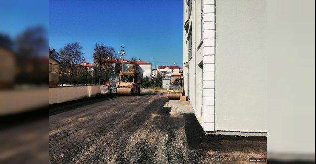 Demirciler Mahallesi Asfaltlanıyor