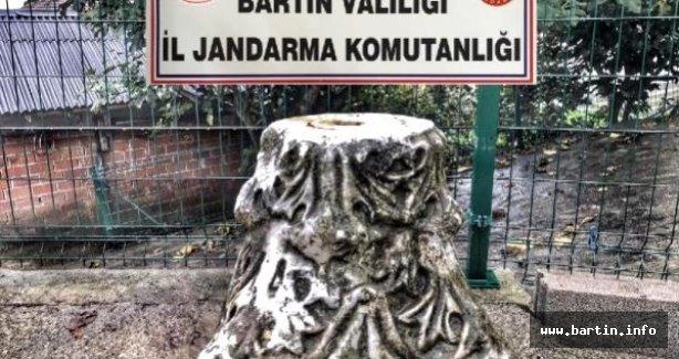 Köy evine tarihi eser operasyonu