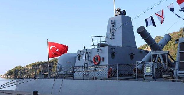 TCG Mızrak Hücumbotu Ziyarete Açıldı