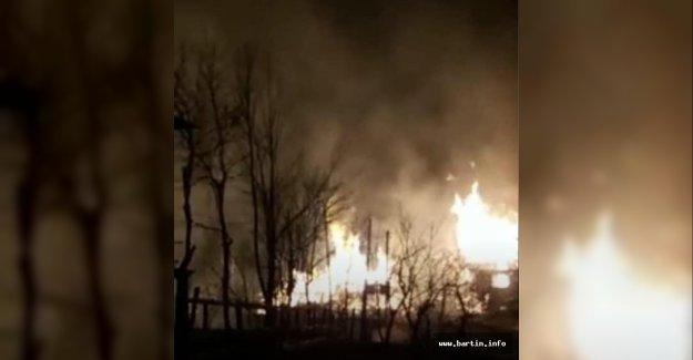 3 Evde Yangın