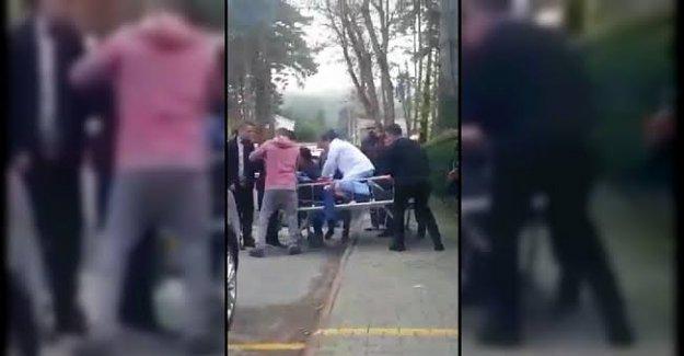 Hastane bahçesinde kalp krizi geçirerek öldü