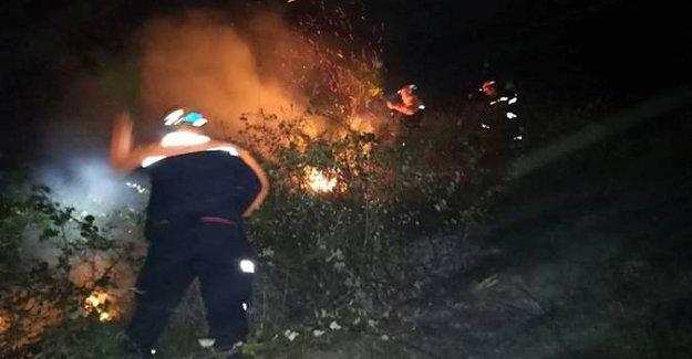 Mezarlıkta Yangın