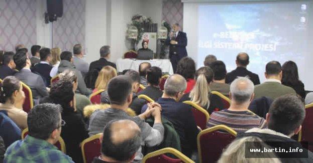 Bartın'da e-Belediye Projesi Eğitimi