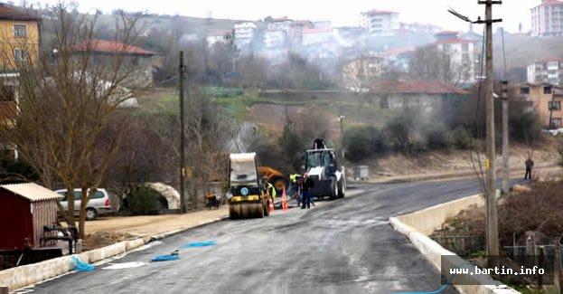 Şiremirçavuş Mahallesi Asfaltlanıyor