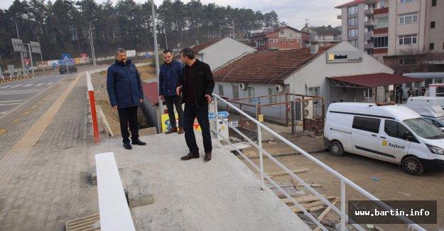 Tuna Mahallesi ve Türbe Yoluna Merdiven