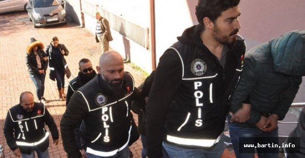 Bartın'da Operasyon: 5 şüpheli tutuklandı