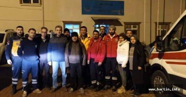 Bartın UMKE Ekibi Elazığ'a Gitti