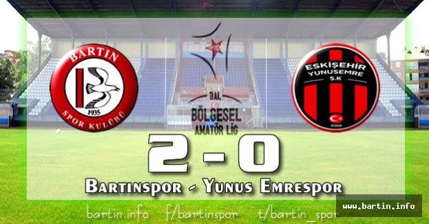 Bartınspor, 2.Yarıya İyi Başladı: 2-0