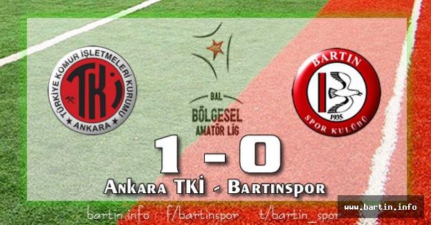 Bartınspor'a Nazar Değdi: 1-0