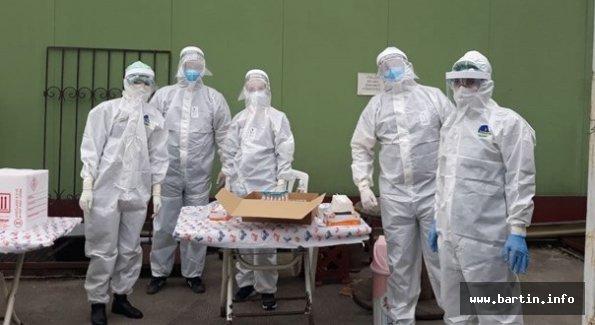 Bartın'da 1263 Hanede PCR Testi Yapılacak