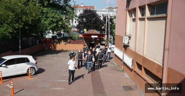 Bartın'da uyuşturucu ticaretinden 5 kişi tutuklandı