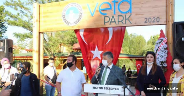 VefaPark Törenle Açıldı