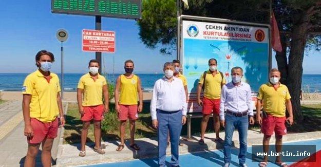 Boğulma tehlikesi geçiren 55 kişi kurtarıldı