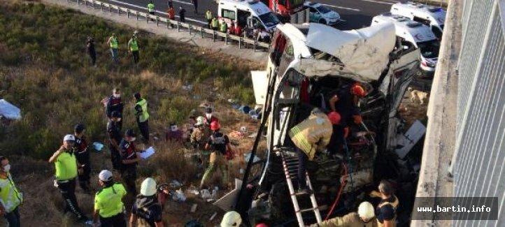 Feci Kaza: 5 Ölü, 7'si Ağır 25 Yaralı
